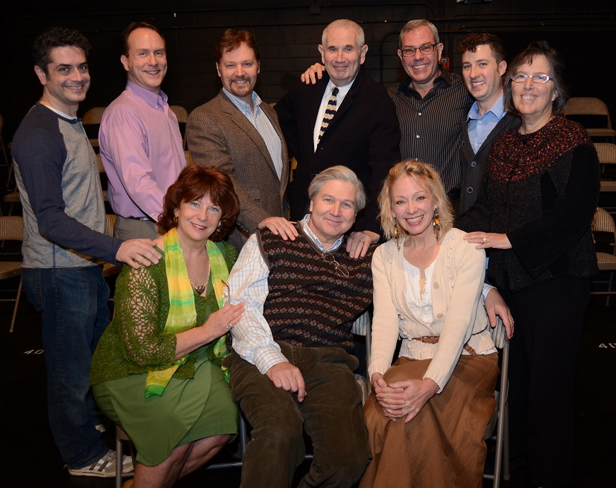 "The Cast of ""For the Life of Him"" (Credit: Elaine Siegel)"