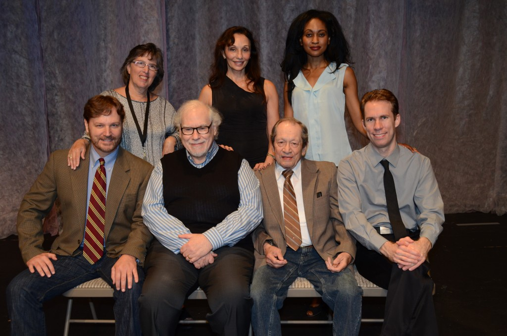 "The cast of ""Denial"""