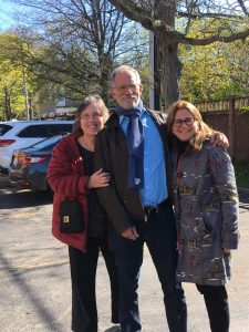Faye Sholiton, Mark Saltzman (Playwright), Katia Schwarz (Director)
